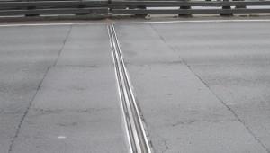 Деформационный шов ДШС-120 на Кольцевой автодороге вокруг Санкт-Петербурга
