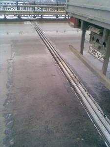 Деформационный шов ДШС-180 на мосту через р. Чусовую на Урале