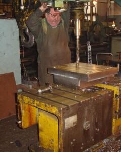 Процесс производства опорной части