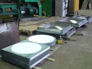 Опорные части с применением листового фторопласта