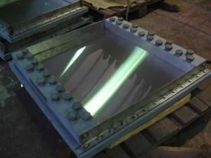 Плита скольжения продольно подвижной опорной части