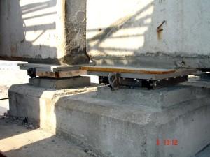 Шаровые сегментные опорные части на мосту на КЗС Санкт-Петербурга