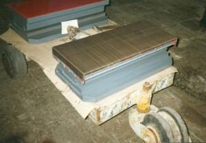 Тангенциальные скользящие опорные части на заводе