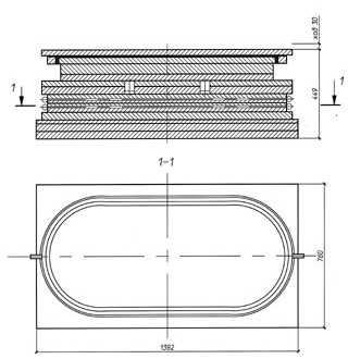 Устройство для подъемки пролетных строений г/п 1400 т