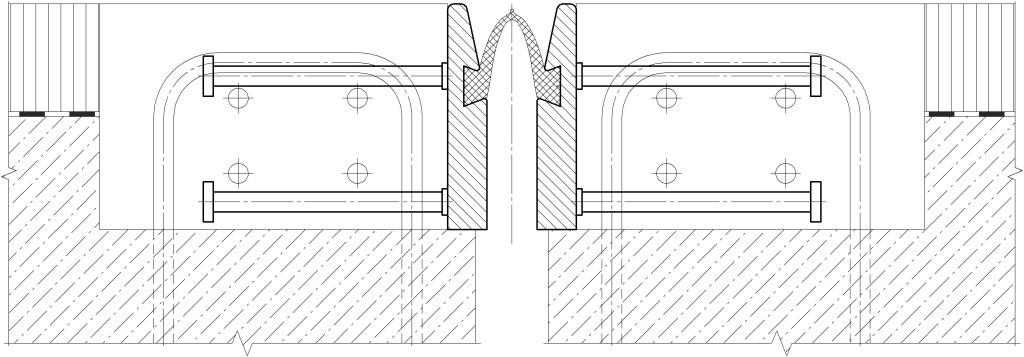Схема установки ДШС-80 с использованием горизонтальных анкеров «Нельсон»
