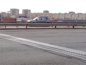 ДШГ на путепроводе в Санкт-Петербурге