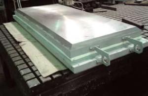 Цилиндрическая скользящая опорная часть для цементного завода в Калужской обл.